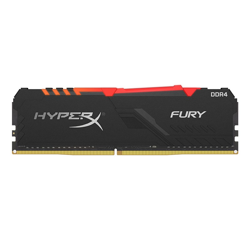 Модуль памяти HyperX Fury RGB DDR4 DIMM 3200MHz PC-25600 CL16 - 32Gb HX432C16FB3A/32