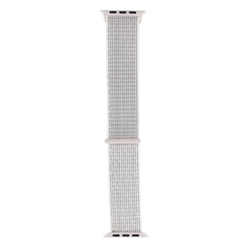 Аксессуар Ремешок Evolution для APPLE Watch 38/40mm Sport Loop AW40-SL01 Reflective White 36812