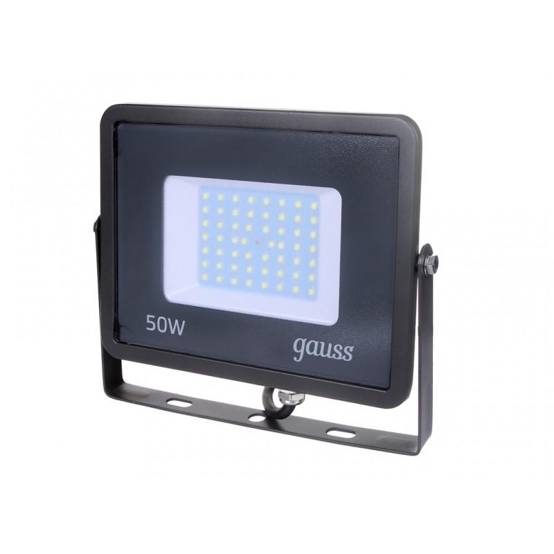 Прожектор Gauss Qplus LED 50W 200-240V 4250Lm IP65 6500K 690511350
