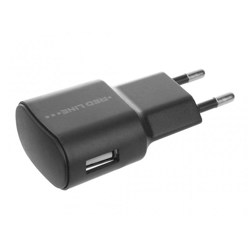 Зарядное устройство Red Line Lite USB 1A TC-1A Black УТ000010347