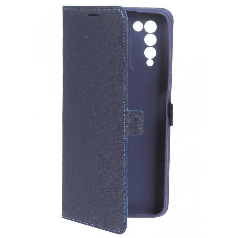 Чехол Krutoff для Honor 10X Lite Eco Book Blue 12034