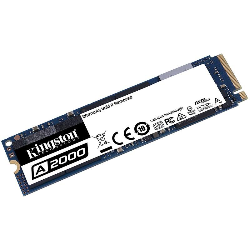 Твердотельный накопитель Kingston A2000 SSD 250Gb SA2000M8/250G