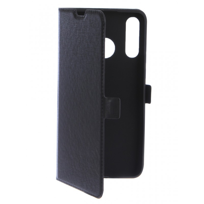 Чехол DF для Huawei P30 Lite Black hwFlip-58