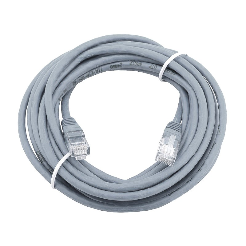 Сетевой кабель AOpen UTP cat.5e ANP511 20m Grey ANP511_20M