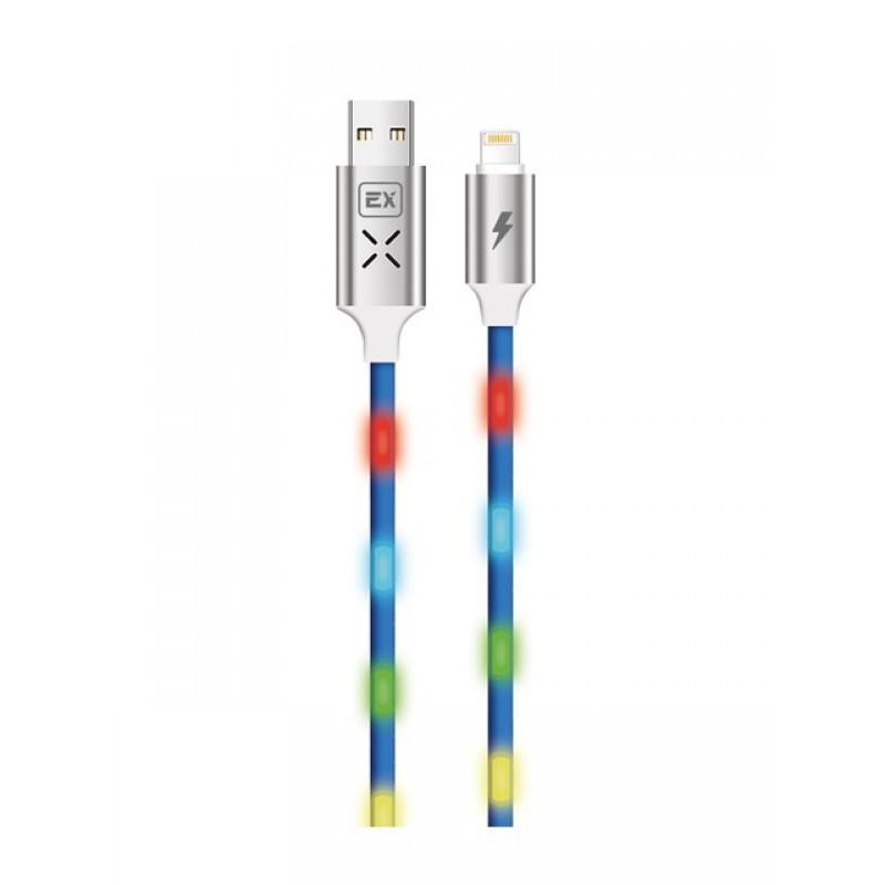 Аксессуар Exployd Sonder USB - Lightning 1m Blue EX-K-664