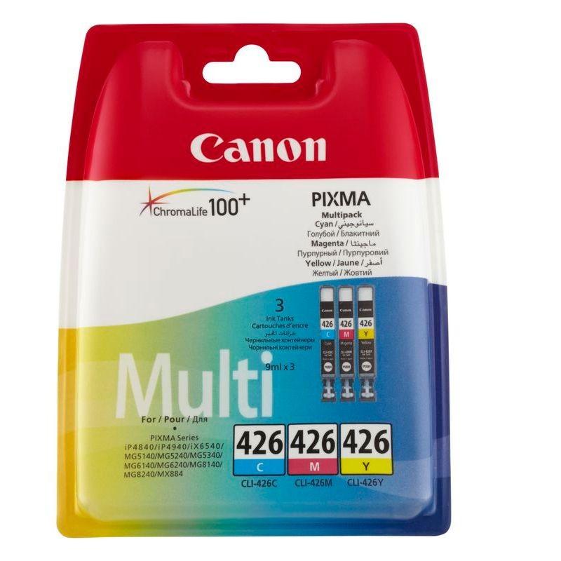 Картридж Canon CLI-426 C/M/Y для Pixma MG5140/5240/6140/8140 4557B006 / 4557B005