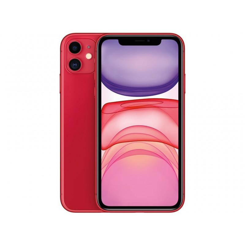Сотовый телефон APPLE iPhone 11 - 64Gb Red новая комплектация MHDD3RU/A