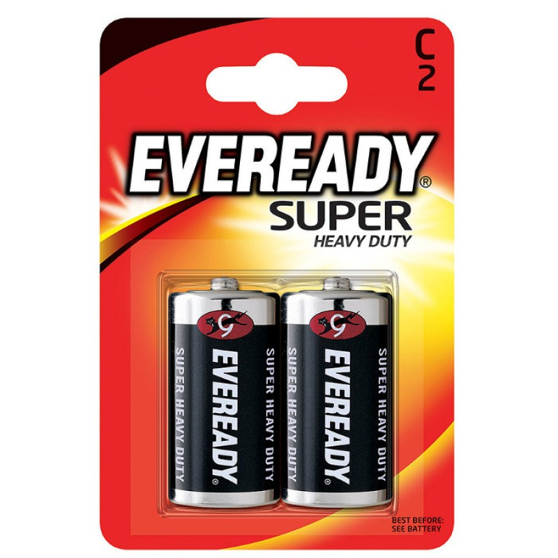 Батарейка C - Energizer Eveready Super R14 Ni-MH (2 штуки)